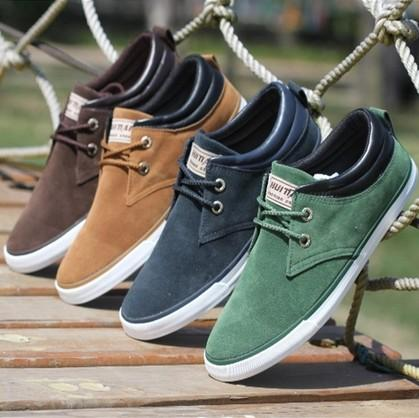 New Hot Fashion Low Style Men Sneakers Canvas Men'S Flats Shoes ...