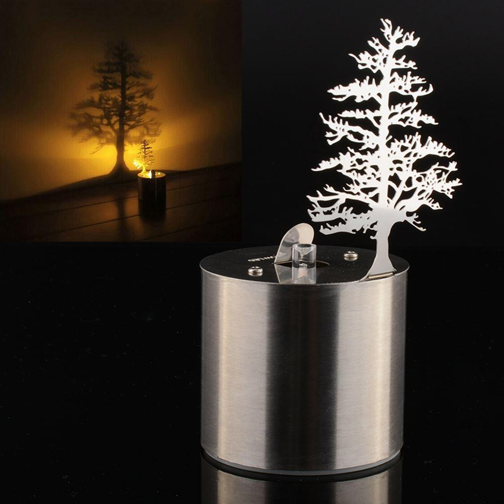 Night light projector lamp - 2017 Pine Tree Romantic Dreamlike Led Shadow Projector Reflection Candle Night Light Amazing Kid Chidren Gift From Ygh942015 31 76 Dhgate Com