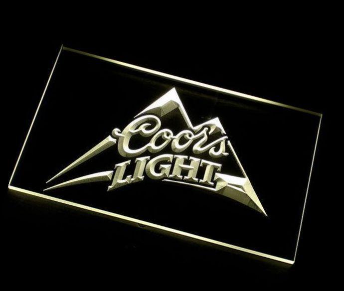 2016 jb 027 coors light beer bar pub logo led neon light Rogg discount