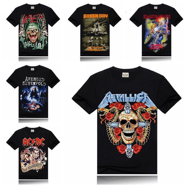 Men t shirt creative design slayer green day slayer iron for Dc t shirt design