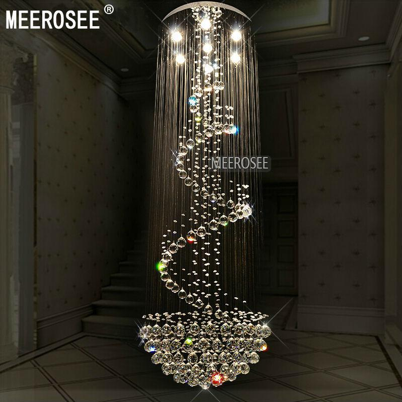 staircase lighting fixtures. long size crystal ceiling light fixture modern chandelier lustre de cristal for lobby staircase stairs foyer cystal stair lighting fixtures