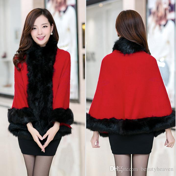 2017 Women'S Fur Coats Fur Outerwear New Korean Women Winter Warm ...