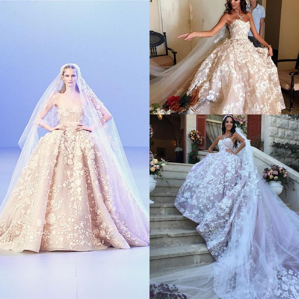Элитные Свадебные Платья Эли Сааб