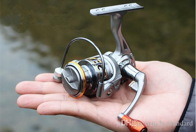 Hot 12 1bb dc150 mini fishing reels spinning reels l r for Cheap fishing reels