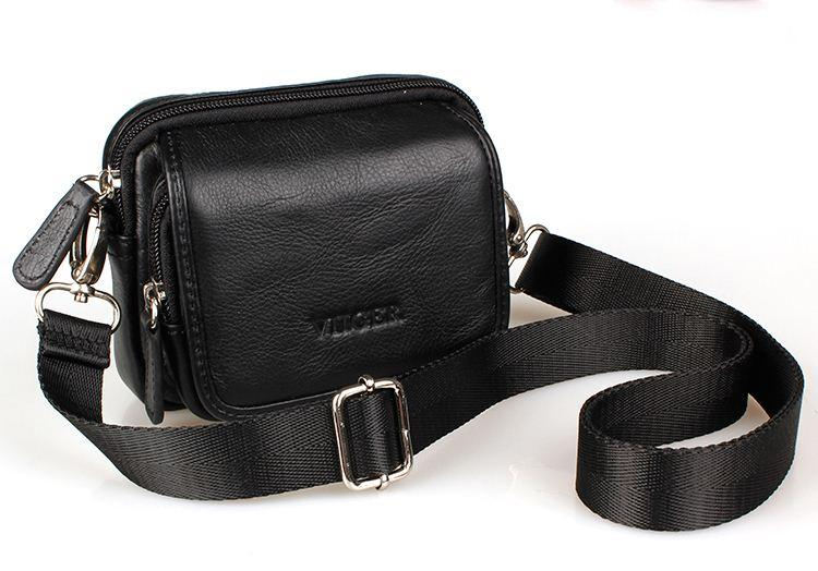 Genuine Leather Waist Bag For Men Travel Bags Waist Pack Passport ...