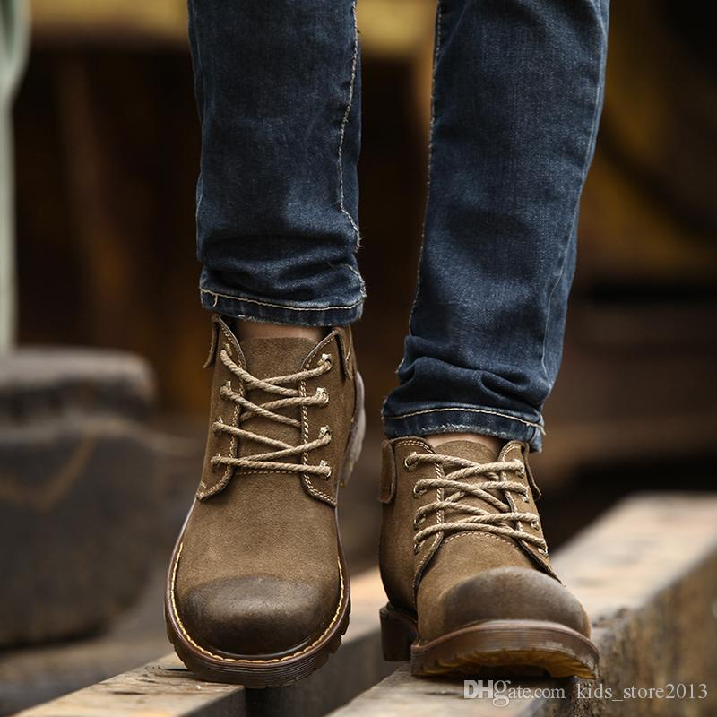 2015 Winter Boots For Man Europe And America Fashion Ankle Boots
