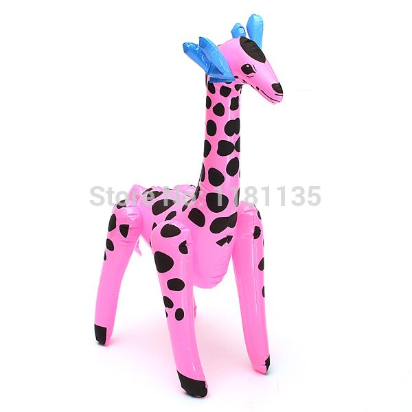 Beautiful 20 Inches Giant Inflatable Blow Up GIRAFFE Zoo Animal Party Decor Pool Kids  Toy Gift Toy Gift Ideas Toy Ambulance Toy Ant Online With $17.16/Piece On  ...