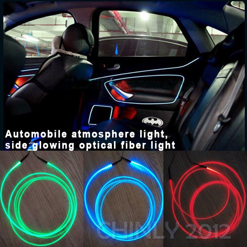 car use car light side glow fiber optic light illuminator amber led strip diy led strip from. Black Bedroom Furniture Sets. Home Design Ideas