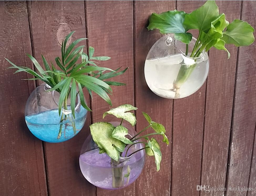 Set Of 3 Wall Terrarium Glass Wall Hanging Diy Mounted