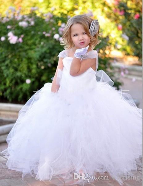 Spring Flower Girl Dresses 2016 Vintage Net Baby Girl Birthday ...