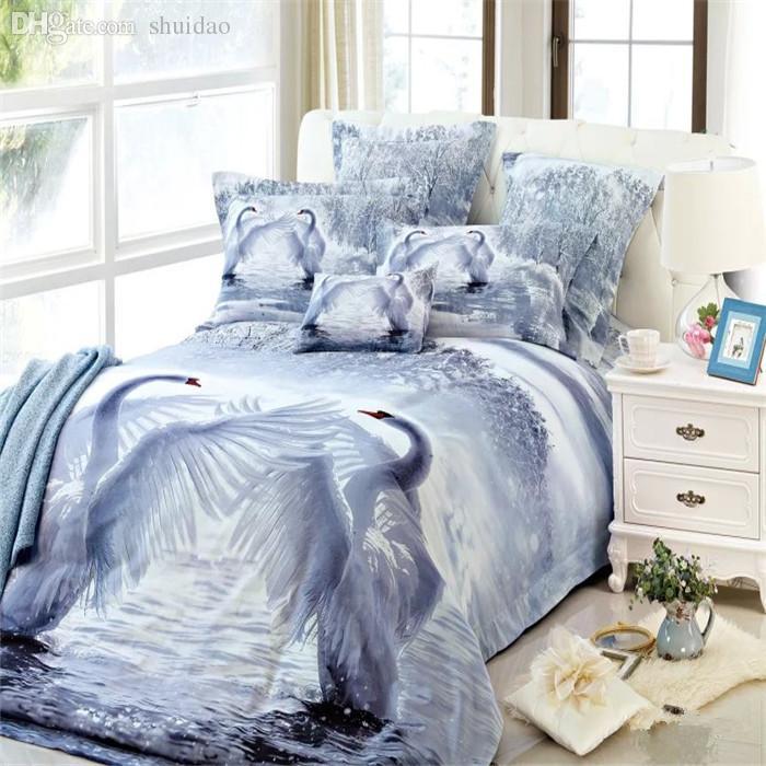 wholesale 100 cotton bedding sets 3d image print dancing. Black Bedroom Furniture Sets. Home Design Ideas