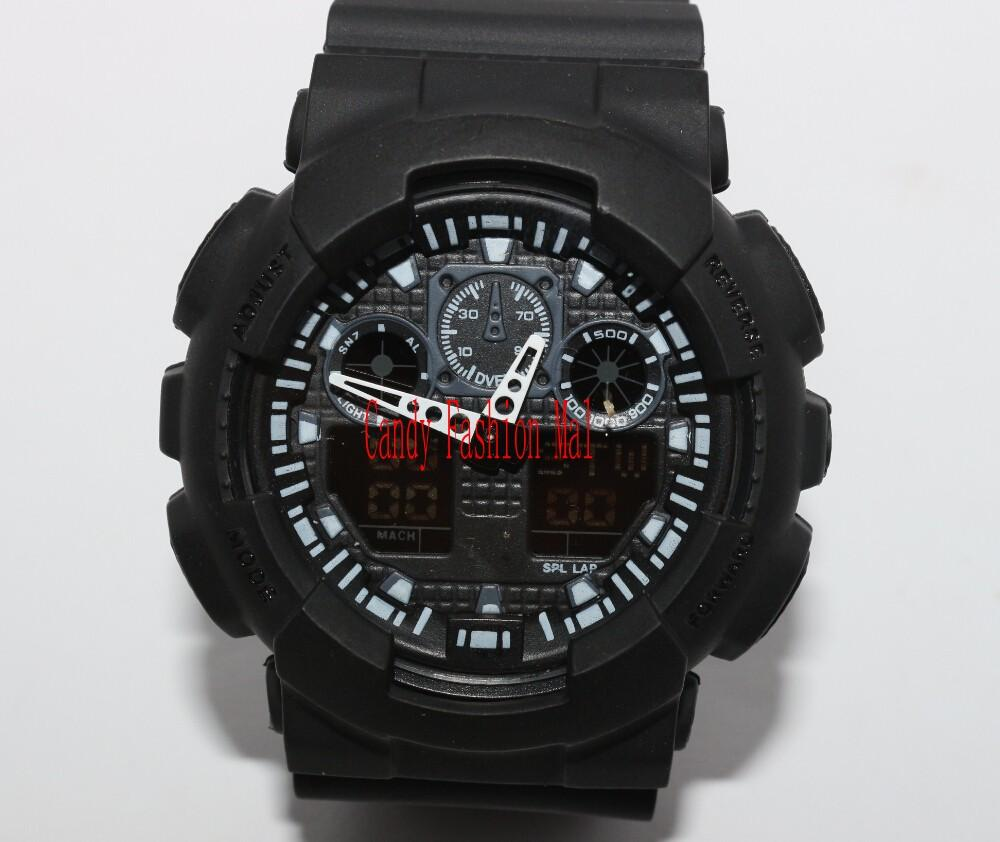 Top Relogio G100 Men'S Sports Watches, Led Chronograph ...