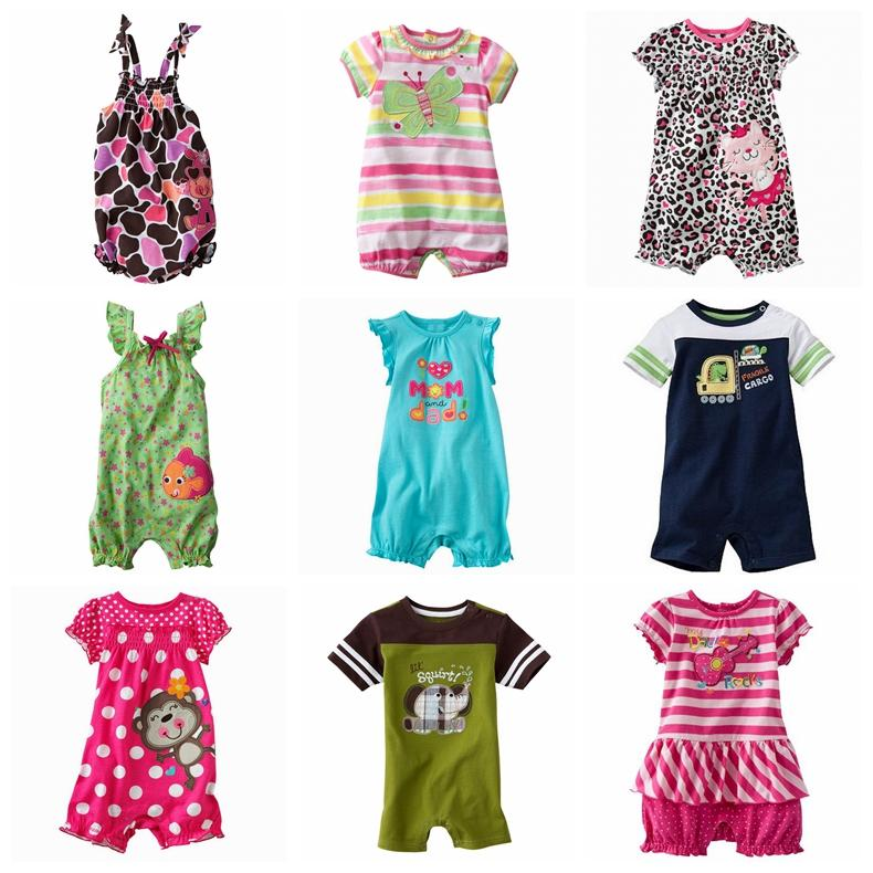 2017 baby romper rompers jumping beans baby boys