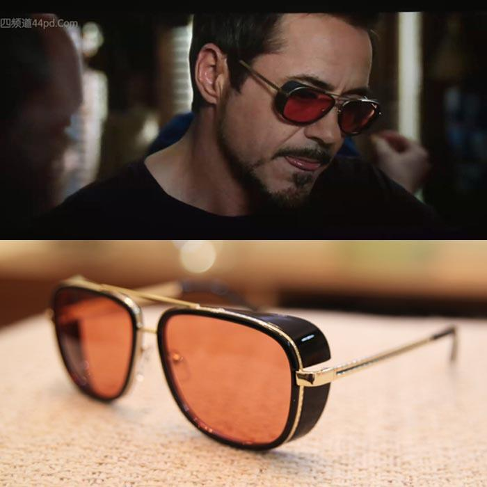 iron man 3 tony sunglasses men mirrored designer glasses vintage sports sun glasses men polarized driving
