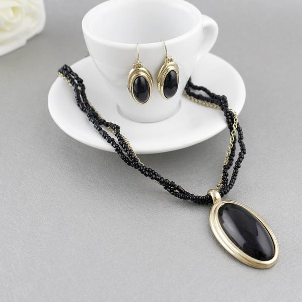 Online cheap cheap costume jewelry sets black bead water for Cheap fake jewelry online