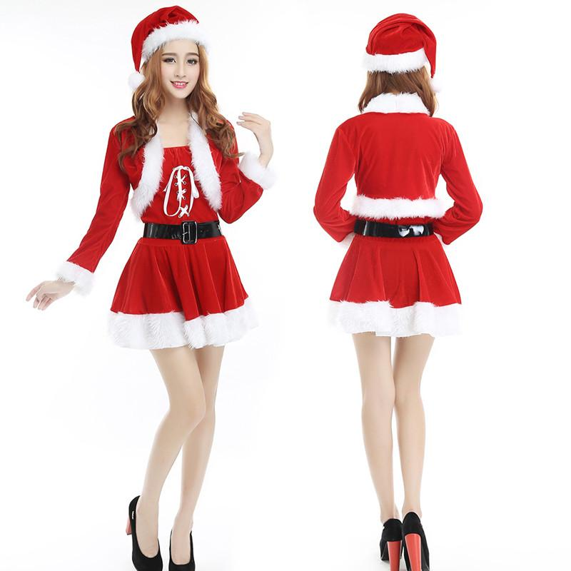 Christmas costume adult lady party
