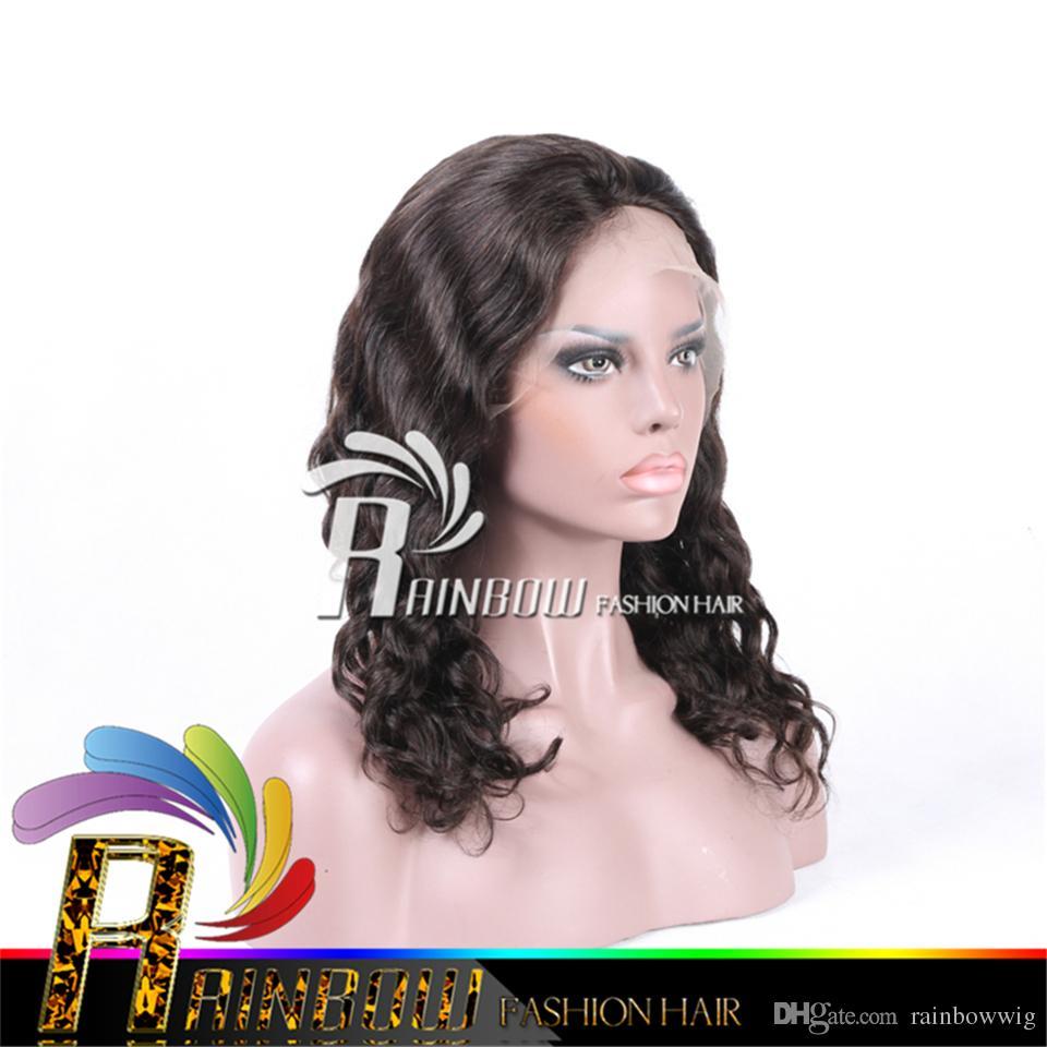 Cheap Full Lace Human Hair Wigs Uk 37