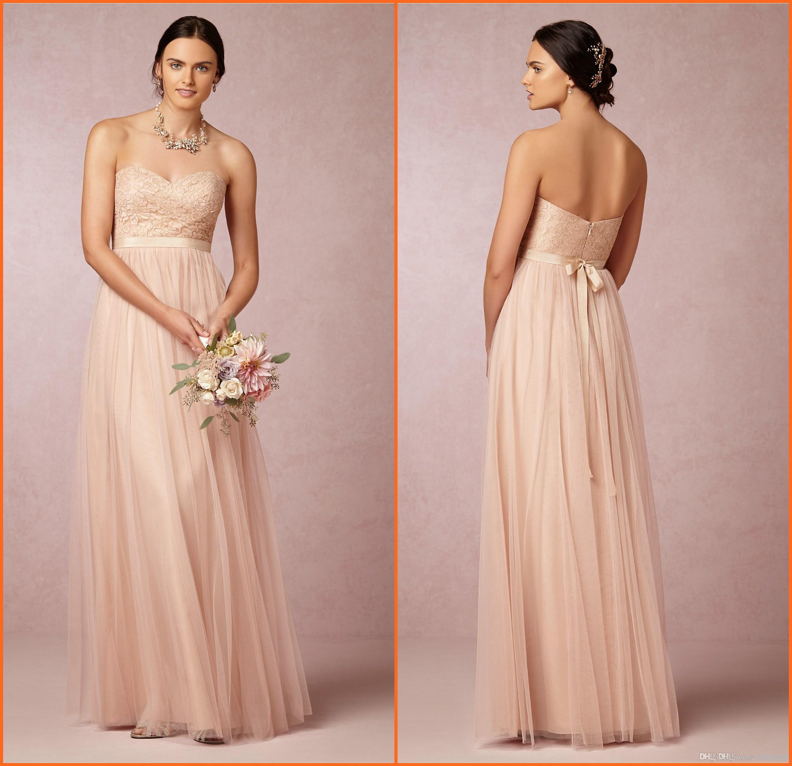 2015 blush pink long bridesmaid dresses sweetheart lace bodice a 2015 blush pink long bridesmaid dresses sweetheart lace bodice a line floor length tulle formal gowns evening dresses long bridesmaid dresses knee length ombrellifo Images