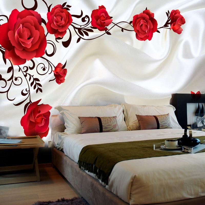 3d Stereo Custom Romantic Backdrop Living Room Tv Wall ...