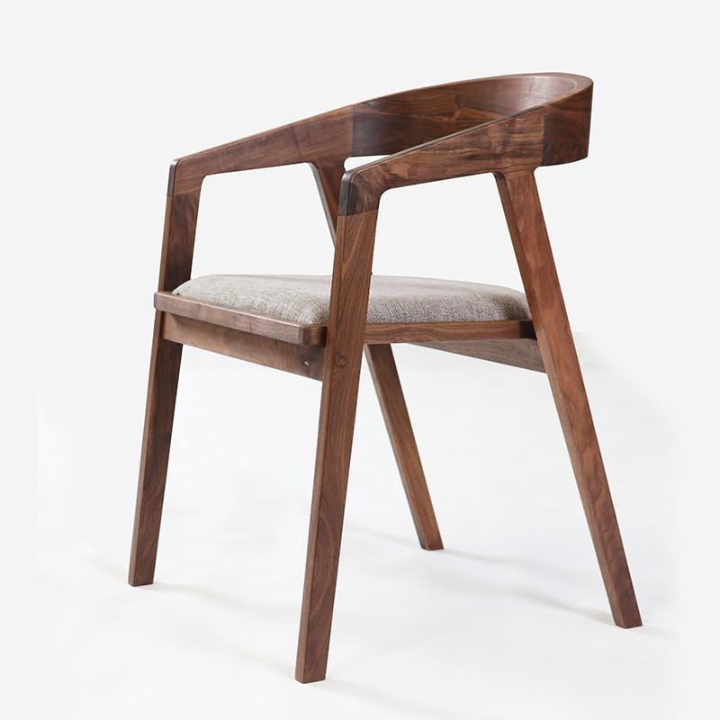 Modern Wooden Dining Chairs ~ Best simple and modern furniture walnut dining chair