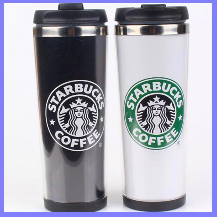 Starbucks Cup Stainless Warm Keeping Mug Coffee Cup Mark