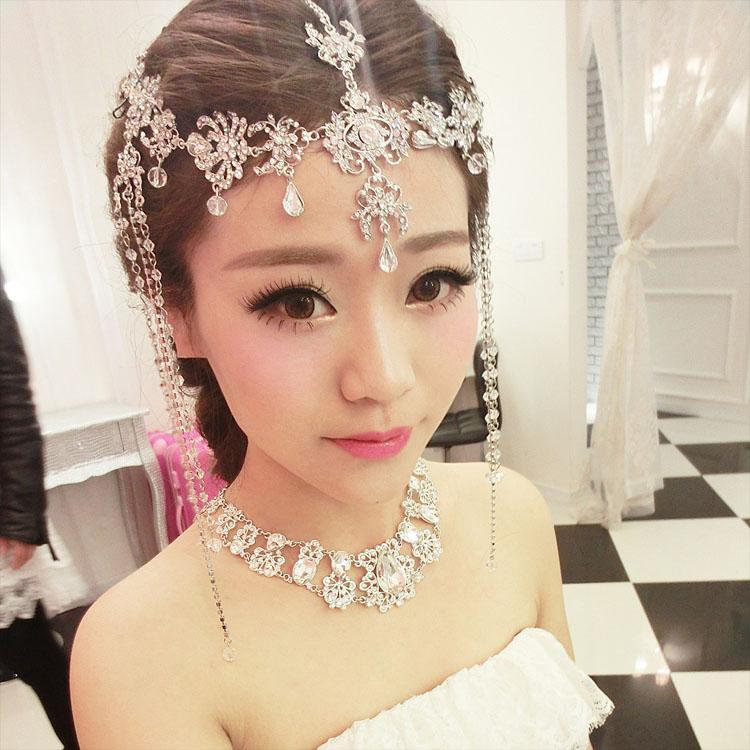 2017 Pretty Good Bridal Headdress Wedding Dress ...