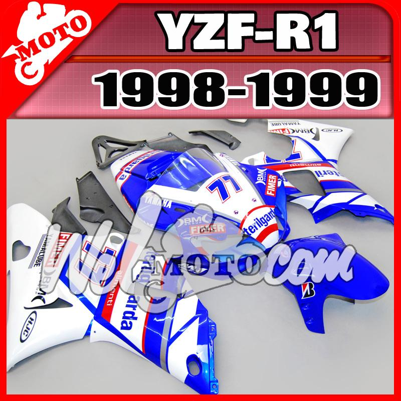 Welmotocom Aftermarket Carter d'injection pour Yamaha YZF1 YZF-R1 YZF R1 1998 19