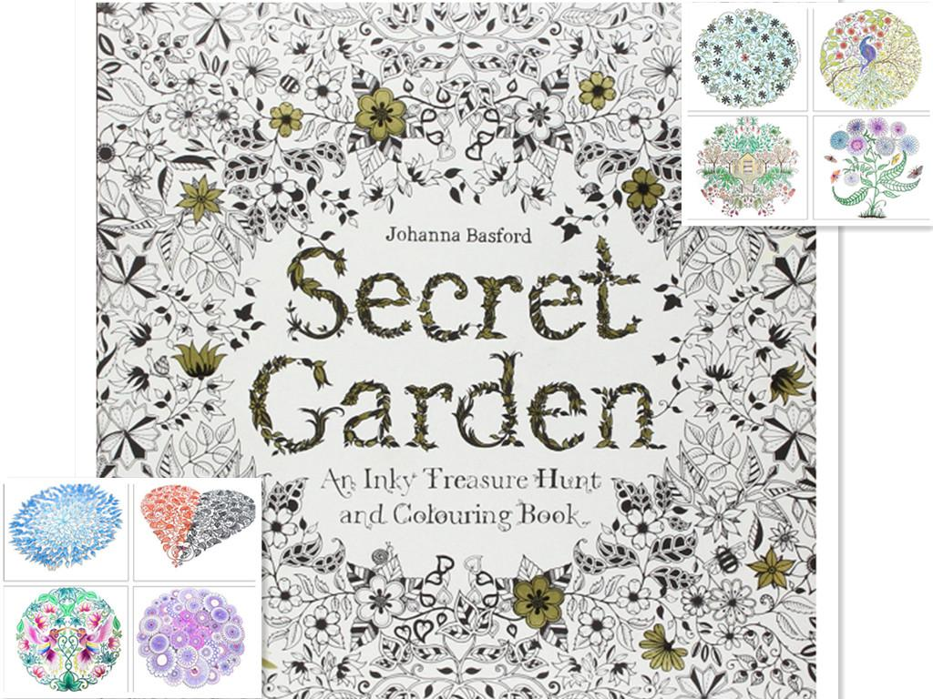 Secret Garden Coloring Book Review Indonesia New Colouring An Inky Treasure Hunt