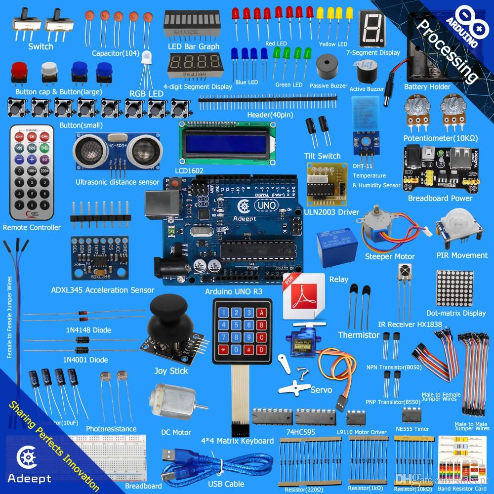 New ultimate arduino uno r starter kit for