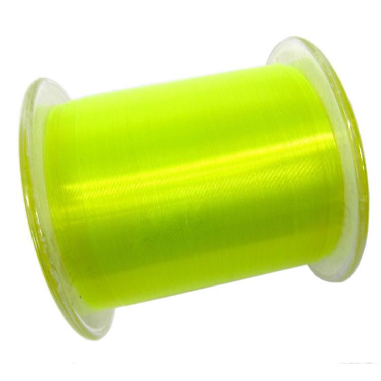 Fluorescent green 500m monofilament fishing lines multi for Fluorescent fishing line