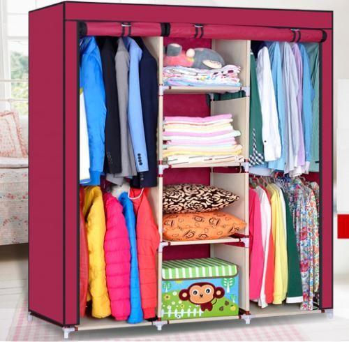 Large Portable Closet : New large portable closet storage organizer