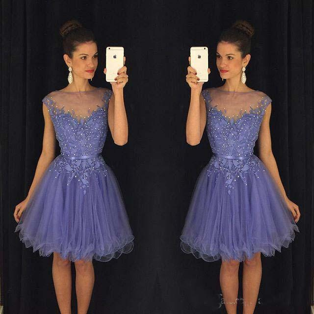 Dresses with cap sleeves knee length party dresses christmas wedding