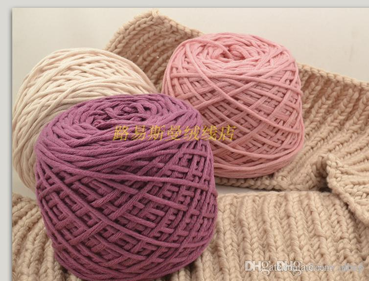 Silk Knitting Yarn : 2016 Double Knitting Silk Wool Yarn Dk Knit Acrylic Balls Skeins Soft ...