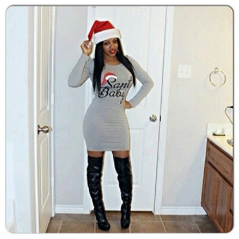 Bodycon Dress Christmas