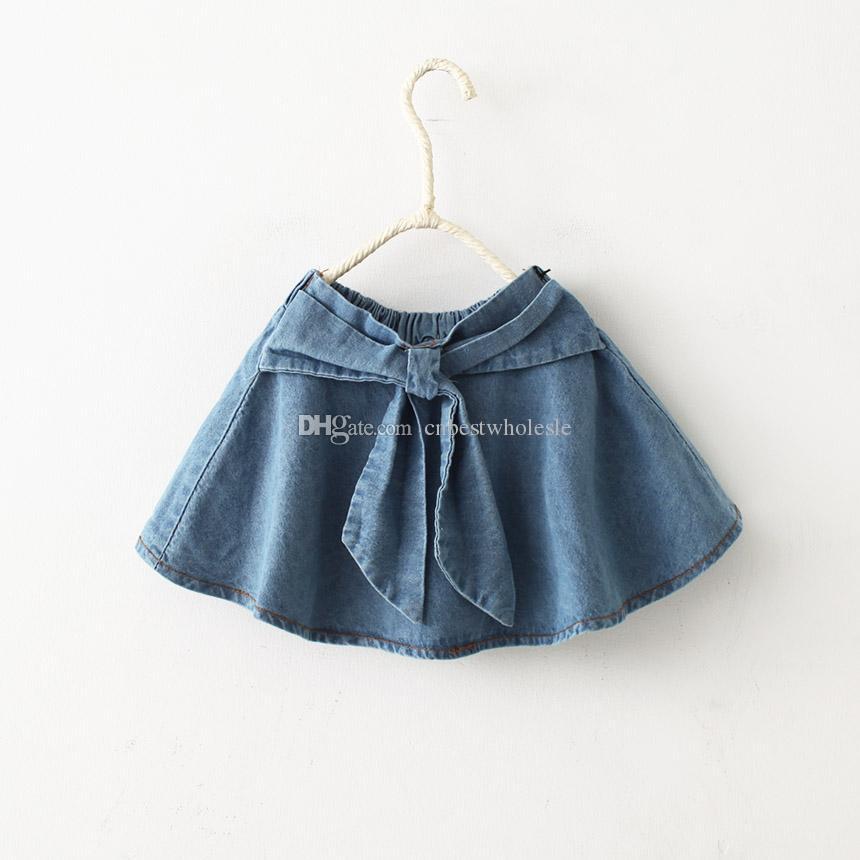 2017 2015 denim skirts babies bownot