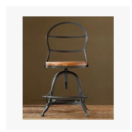 american country loft style retro to do the old antique wood seats with lifting bar stool american country loft style