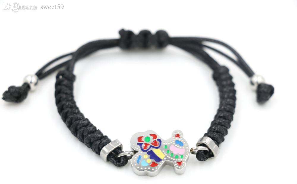 Wholesale 2015 punk little bear bracelet stainless steel for Jewelry stores in bear delaware