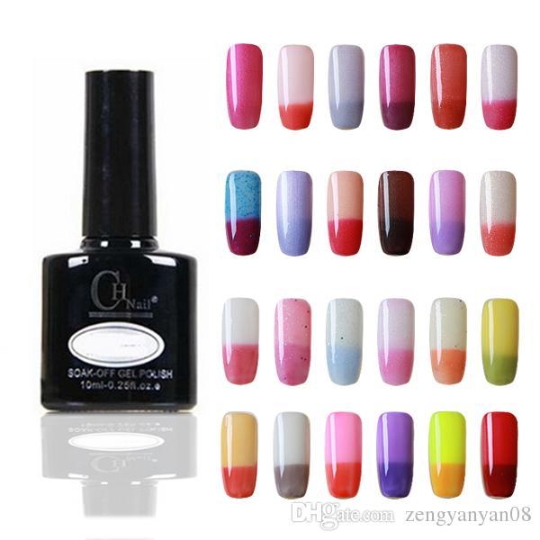 Temperature Change Nail Gel Color Nail Art LED UV Gel Nail Polish ...