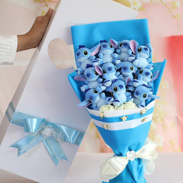 Baby Gift Bouquet New Zealand : New cartoon stitch baby doll gift bouquet of roses