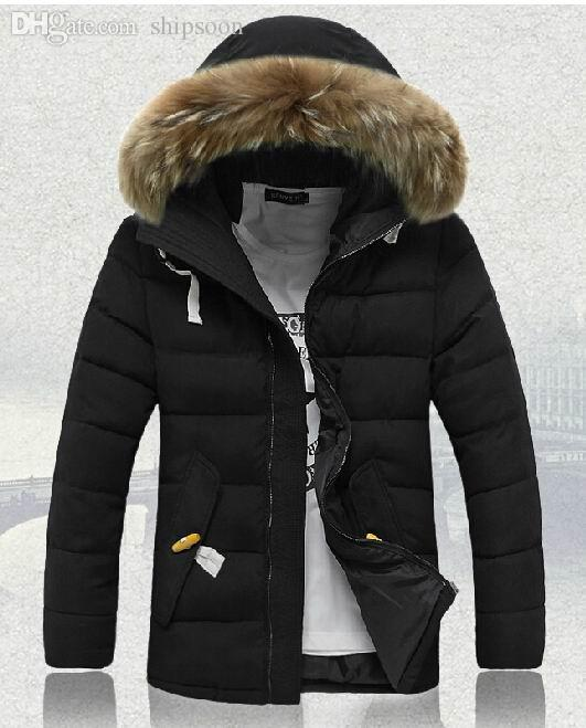 Fall-Down Jacket Men Quality Clearance Men Long Thickening Winter ...