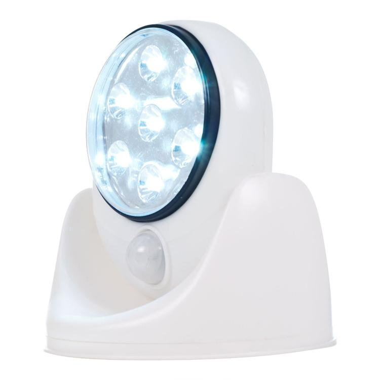 Cheap Led Crystal Light Best Crystal Paw Charms - Light Angel Battery Operated Cordless 7White LED Motion Sensor
