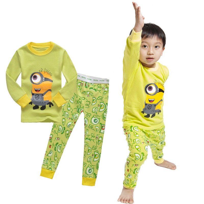 Despicable Me Little Boys Minions Baby Clothes Pajamas