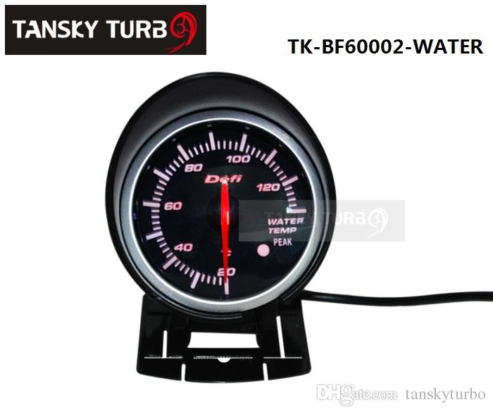tansky cars vehicle waster temperature gauge meter defi 60 mm water temp gauge black bracket. Black Bedroom Furniture Sets. Home Design Ideas