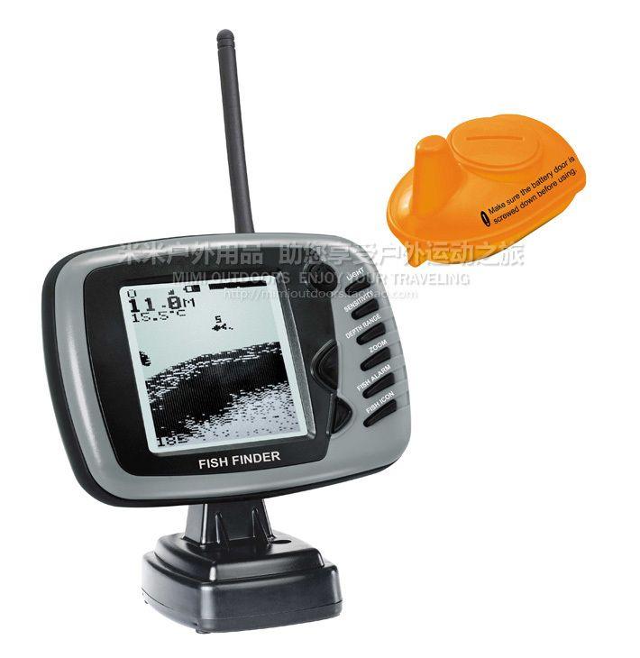 English Big Screen Fd19 Wireless 125khz Sonar 0 30m 90