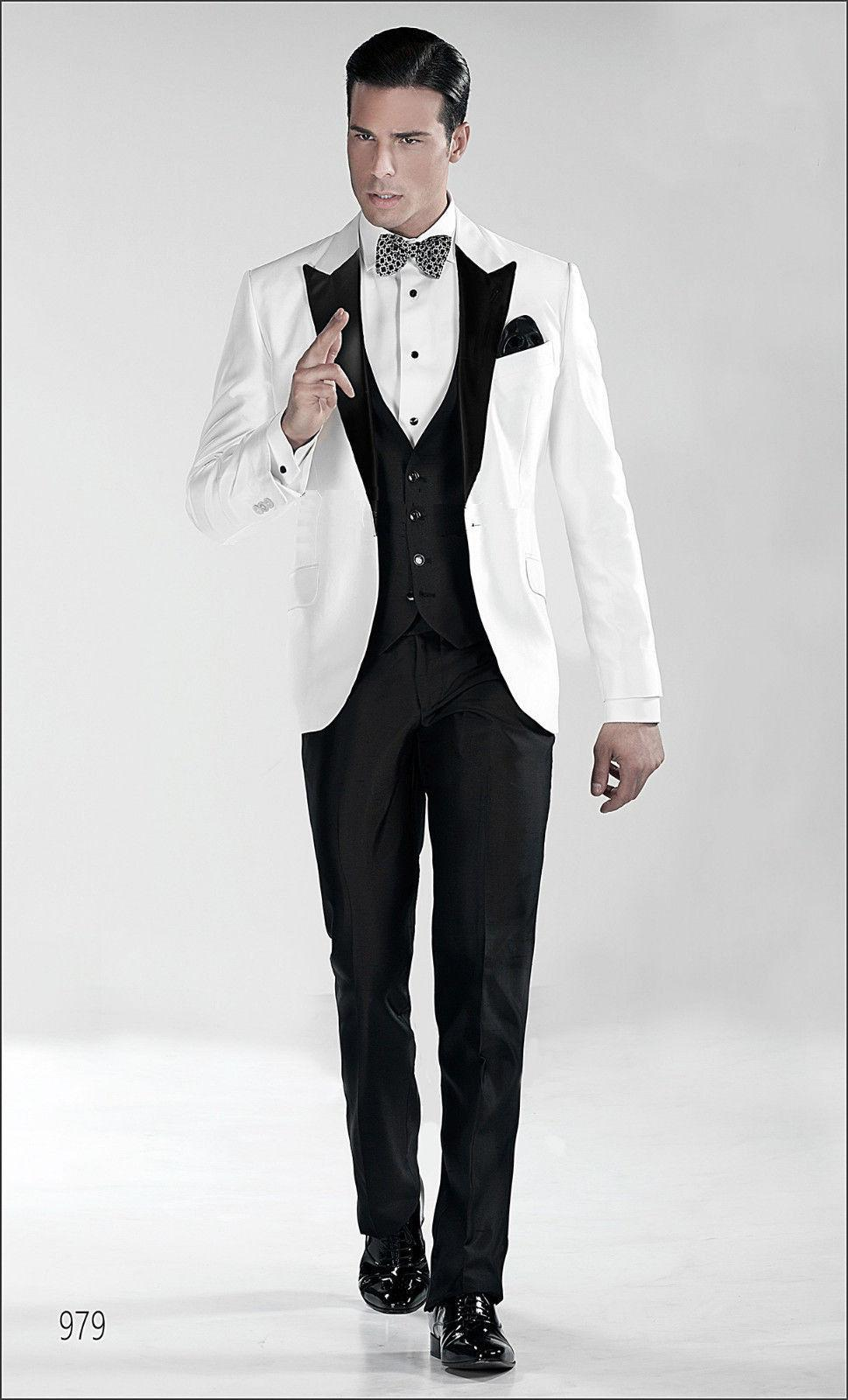 Wedding Groom Tuxedo the groom suits tuxedos men for wedding new fashion designer tuxedo dinner suit blazerjacketpantsvest men