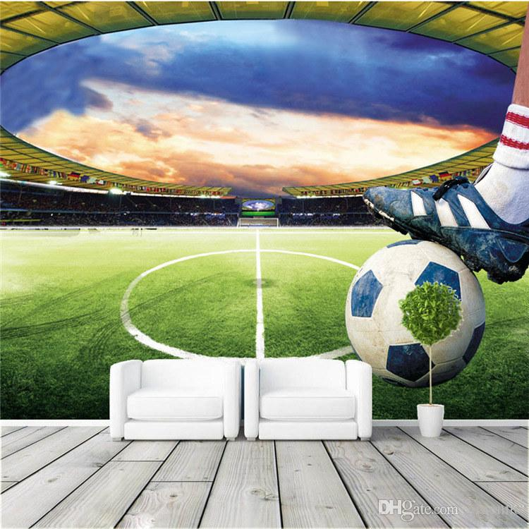 Football Stadium Wall Mural Customize Photo Wallpaper Soccer Game ROOM  DECOR Collection Living Room Bedroom Hallway Sports Wallpaper Wall Mural  Photo ... Part 35