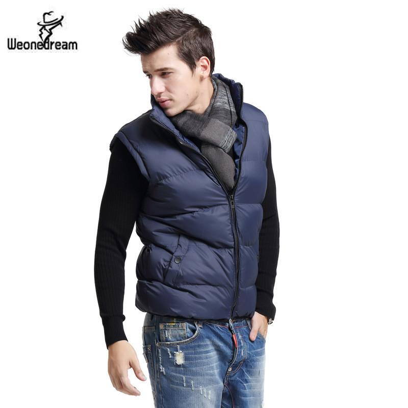 2017 New Arrival Men Duck Down Jacket Vest Waistcoat Military Vest ...