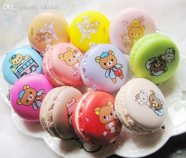 Rare Squishy Squeeze Toy : Online Cheap Wholesale Cute!! Rare Squishy Rilakkuma Squishy Macaron Kawaii Squishy Squeeze Toy ...