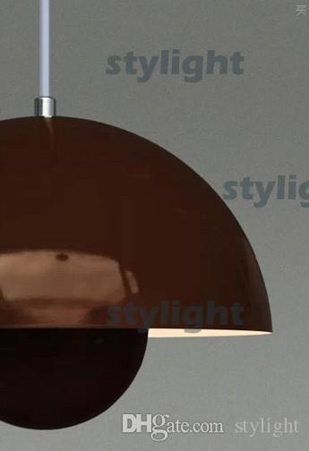 Flowerpot Pendelleuchte Esszimmer Wohnzimmer Decke Light Metal ...