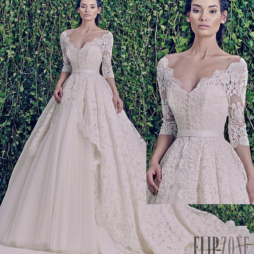 Zuhair murad wedding dresses 2015 dress images for Zuhair murad used wedding dress